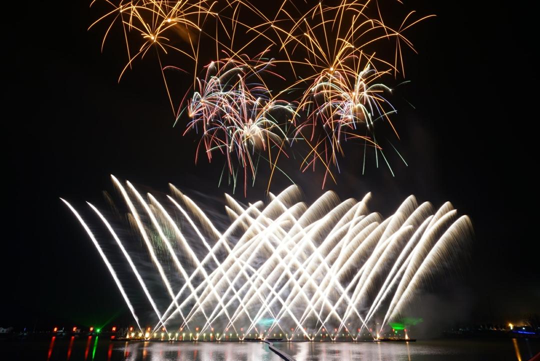 2016年10月南京国庆烟花大会音乐焰火燃放